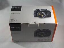 NEW in Box - Sony Cyber-Shot DSC-H300 20.1 MP Camera - BLACK - 027242873810