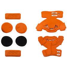 POD K1 Youth Large MX PAD SET (RIGHT SIDE) in Orange/ Black