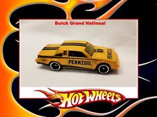 Hot Wheels Buick Grand National Custom Orange Pennzoil Oil
