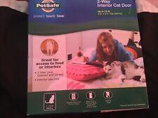 Pet safe 2-way cat door new in box