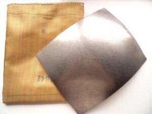 Titanium bulletproof large plates for army body armor, original, 4mm, +aramid