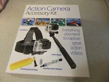 Action Camera / GO-PRO Accessory Kit BARGAIN NEW £5.99 FREE POST SRP £34.99