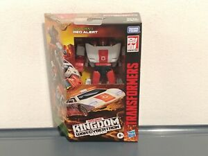 Transformers Kingdom Earth Mode Red Alert Exclusive