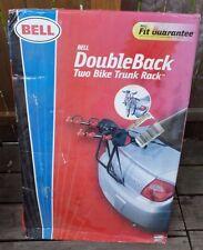 NEW Bell Double Back Two-Bike Trunk Rack -NEW IN BOX Car Cradle Biking Travel
