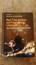 REAL TIME SYSTEMS AND PROGRAMMING LANGUAGES: ADA 95, By Andy Wellings EXCELLENT
