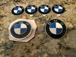 Lot of Genuine BMW Badge Emblems