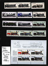 Canadian Locomotives Mint Never Hinged