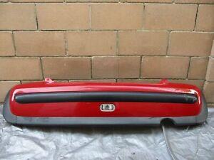 2002-2008 MINI COOPER R50 R52 REAR BUMPER COVER W/ FOG LIGHT RED