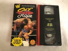 OFF THE TOP ROPE WWF WWE COLISEUM VIDEO PROFESSIONAL WRESTLING VHS TAPE 1995