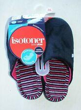 chaussons/mules noirs Isotoner neufs taille 36 étiqueté à 21€