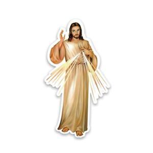 Gift Sticker : Merciful Jesus Catholic Religious Divine Mercy Christ
