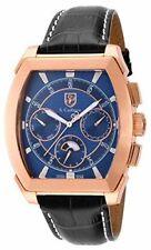 Relojes de pulsera de cuero Cronógrafo para hombre