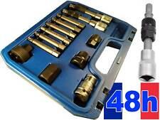 13Pcs Kit de Alternateur Outil de Demontage Roue Libre Poulie Extracteur