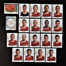 Panini FIFA World Cup Brazil 2014 Complete Team Switzerland + Foil Badge