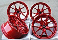 """Alufelgen 19 """" Cruize Gto Cr Candy Rot Concavt Abgestuft 19 Zoll 5x120 Legierung"""