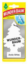 Wunderbaum® 10 Stück Arctic White Lufterfrischer Duftbaum Duft Auto