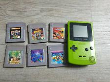 Nintendo Gameboy, Game Boy Color Konsole inkl. 6 Spiele