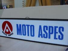 Insegna luminosa Aspes Moto Cross Junior Apache old sign italy