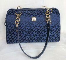 TOMMY HILFIGER Women's Navy Satchel Handbag Retails $79