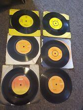 6 x vinyl david essex/the tymes/david cassidy/abba & mike batt