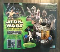 STAR WARS Carbon Freezing Chamber Playset - 2001 POTJ NEW & SEALED! Hasbro