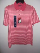 IZOD - MENS - POLO SHIRT - RAPTURE ROSE - SIZE MEDIUM    (AC-25-418)