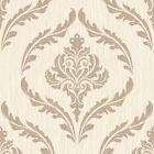 Debona Cristal Feuille Floral Papier Peint Damas Motif À Paillettes