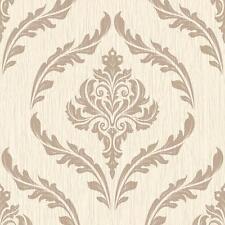 Debona Crystal Floral Leaf Damask Wallpaper Glitter Motif Textured Roll 9030