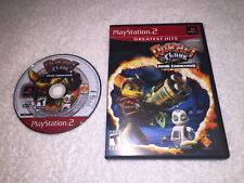 Ratchet & Clank: Going Commando (Playstation 2, 2004) PS2 GH Game in Case Exc!
