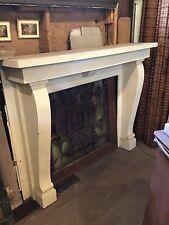 Oak Fireplace Mantle