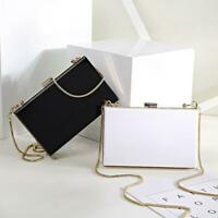 Women Acrylic Clutch Handbag Shoulder Chain Bag for Evening Party Prom Wedding