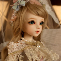 Latest Female Ball Jointed 60cm BJD Doll Full Set Clothes Eyes Free Face Make Up