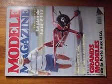 $$3 Revue modele magazine N°480 Plan encarte Boomerang  SPR 2  Spirit  Ferte