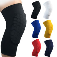 Knee Pad Anti-collision Short Sleeve Leg Support Brace Basketball Running