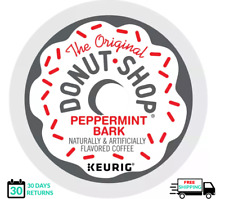 Donut Shop Peppermint Bark Keurig Coffee 18 K-cups