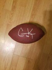 Cooper kupp signed official size baden football w/coa