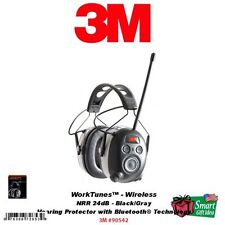 3M Peltor WorkTunes Wireless Hearing Protector with Bluetooth Technology #90542