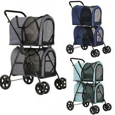 Double Pet Stroller (2 small to medium pets)