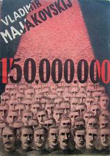 Vaclav Masek lithograph Mayakovsky Majakowski 150,000.000 1945 czech avant-garde
