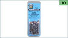 Kadee #11 Bulk Pack - 20 pair, NO.5 Metal Couplers, HO Scale, #5 metal couplers