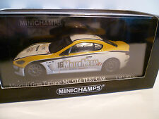 MASERATI GRAN TURISMO MC GT4 TEST CAR de 2010 : MINICHAMPS ~  NEUF