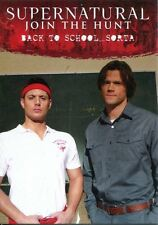 Supernatural Seasons 4-6 Disguises Chase Card D3 Back to School?Sorta