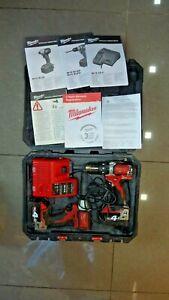 Milwaukee M18BLID 18V Brushless Impact &  M18BLPD Drill Driver Combo Set