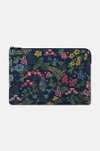 "Brand new Cath Kidston laptop case sleeve 15"" navy floral Twilight garden RRP£28"