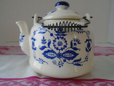 Delft Blue Onion Teapot/ Armbee/ Made in Japan/ Vintage Teapot