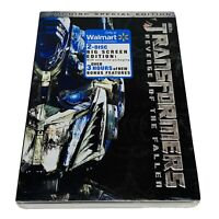 Transformers: Revenge of the Fallen (DVD, 2009, 2-Disc Set, Special Edition)