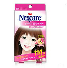 3M Nexcare Blemish Acne Clear Cover CARE DRESSING PIMPLE STICKERS PATCH 114PCS