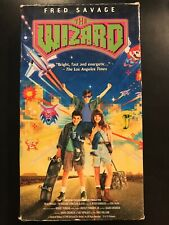 The Wizard (VHS, 1990, Movie) NINTENDO related: Nintendo Fred Savage RARE !!!
