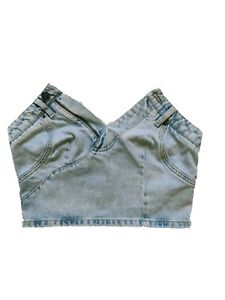 MOSCHINO for H&M DENIM TOP WOMAN Size 36