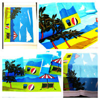 NEW Large 100% Cotton Cool Beach Bath Towel Sports Travel Camping Lightweight